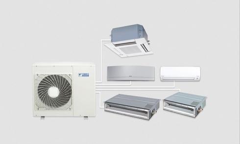 Điều hòa Daikin Super Multi NX hai chiều lạnh/ sưởi